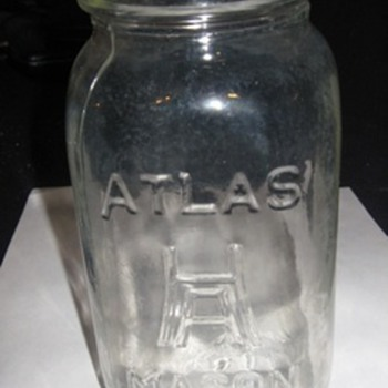 Atlas Mason Fruit Jar - Bottles