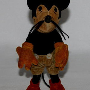 Steiff 1930's Mickey Mouse Doll