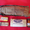 Old World War US USA WWII WW2 Accessory Army Pack Packet Gum Water Tablets Matchbook