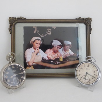 RADIUM GIRLS & Radiolite Dial Watches. - Pocket Watches