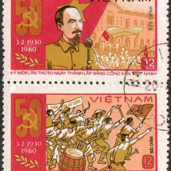 "1980 - Vietnam ""Communist Party"" Postage Stamps"