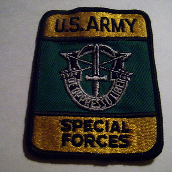 Special forces  patch - Military and Wartime