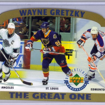 Wayne Gretzky - The Great One (Limited Edition) 3569/5000 - Hockey