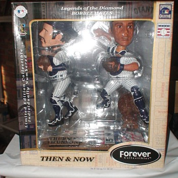 Munson & Posada Then and now Bobbleheads NIB???