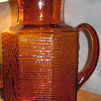 A Blenko Pitcher? - Glassware
