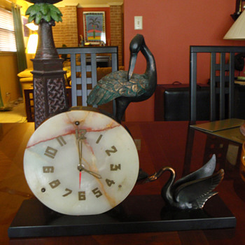 My Swan Clock - Clocks