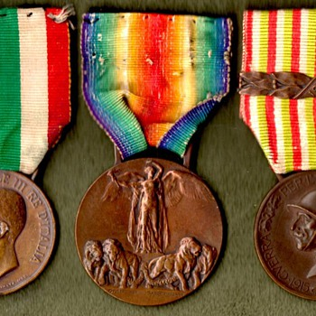 The Italian Victory Medal and Its Companions - Military and Wartime