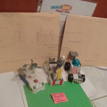 1960's Mattel \ HMS prototypes !!!!  With COA & blueprints