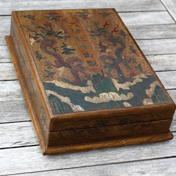 Qianlong ? wooden box