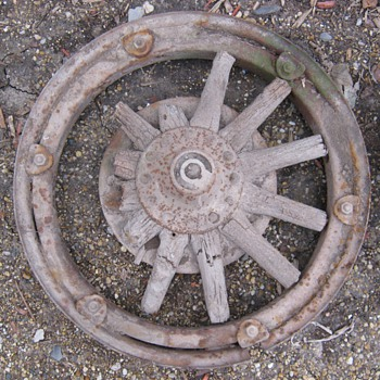 Buick Wood Spoke Car Wheels