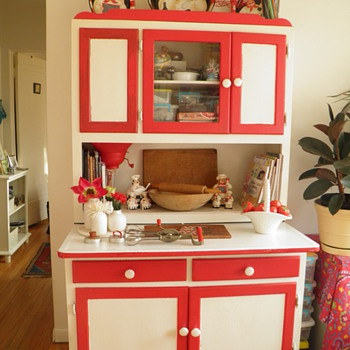 My Grandmothers Hoosier Cabinet