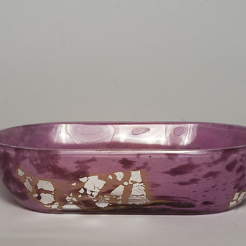 Daum, verre de jade pin dish - Art Glass
