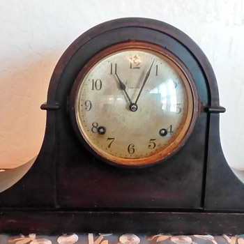 "1920's Ansonia Clock Co. Model ""Dundee"" Mantle Clock"