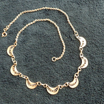 800 Filigree Necklace - Fine Jewelry