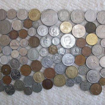 Some Vintage Coins From Different Countries