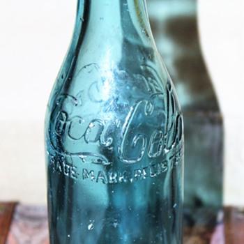 Ice Blue Canada Coca Cola Bottle - Bottles