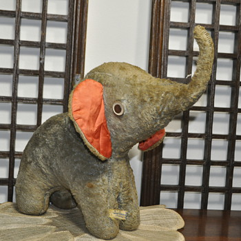 "Over 15"" tall Elephant.What to do with this Jee Bee Creations ELEPHANT?"