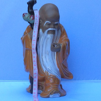 Large Chinese figurine