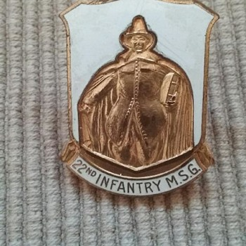 Unable to identify military pin