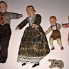 DOLLHOUSE  FAMILY INCULDES PET DOG UNKNOWN YEAR OR STYLE OF MFG.