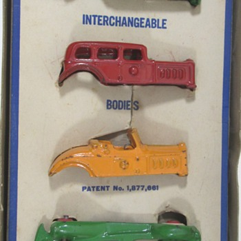 A.C. Williams Interchangeable Set - Model Cars