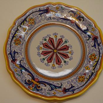 Italian Majolica Plate