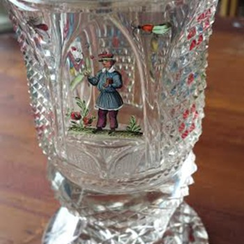 Souvenir glass of some kind?  - Glassware