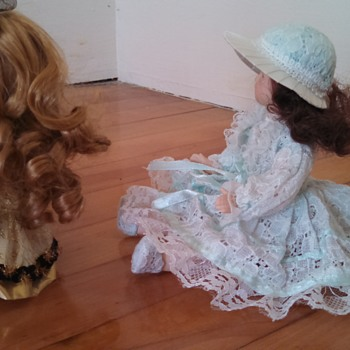 Two Mystery Dolls in great condition