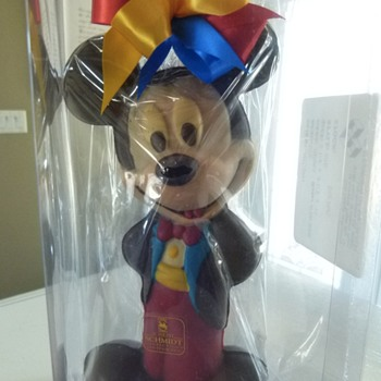 "Joseph Schmidt Prototype Chocolate Mickey, 11"" tall"