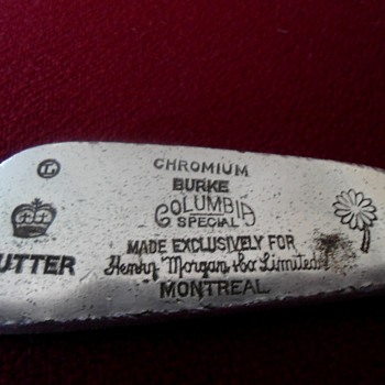Antique Putter 1930's ?