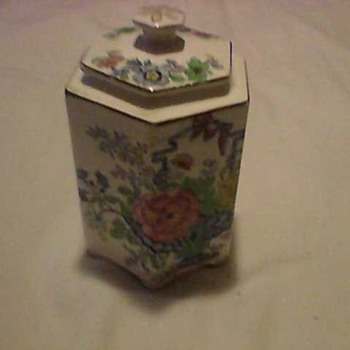 A BEAUTIFUL  PORCELAIN CONTAINER