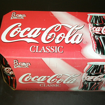 Coca-Cola Bottle Cans