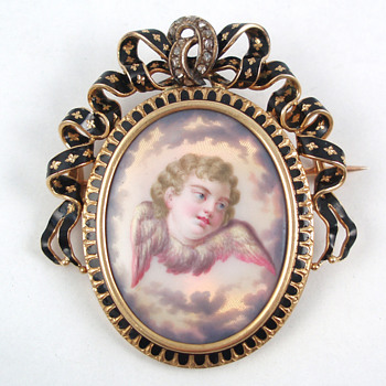 Victorian Mourning Pendant - Fine Jewelry