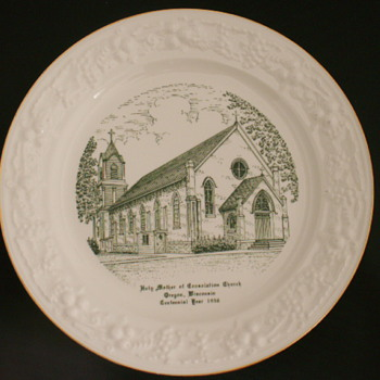 Church Plate, Oregon, Wisconsin - China and Dinnerware