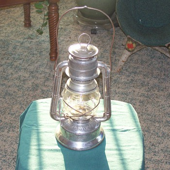 1940's Little Wizard Kerosene Lantern, by the Dietz Co. of New York - Outdoor Sports