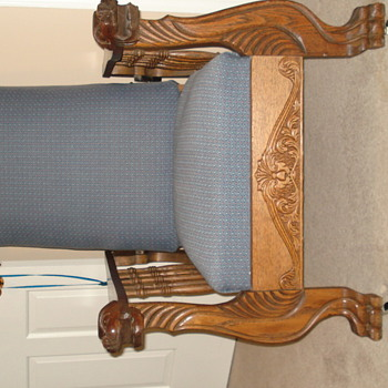 Automatic chair dated July9, 1901