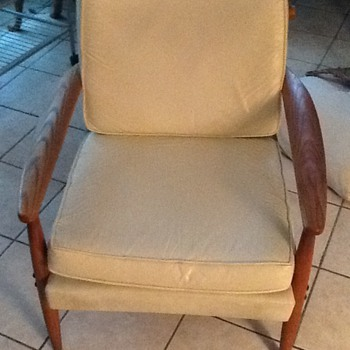 Vintage 1960 Danish Model Chair - Furniture