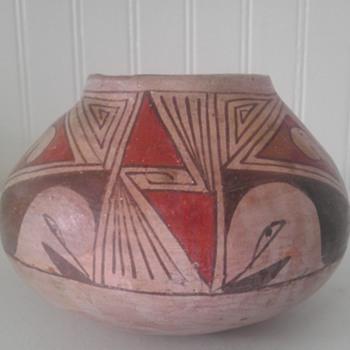 Mata Ortiz polychrome vase - Art Pottery