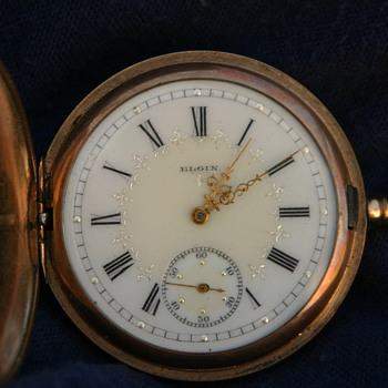 My Grandfathers Elgin pocket watch