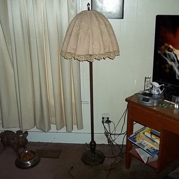 VINTAGE FLOOR LAMP - Lamps