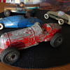 Collection of Vintage Tin, Pressed Steel, &amp; Diecast Racers