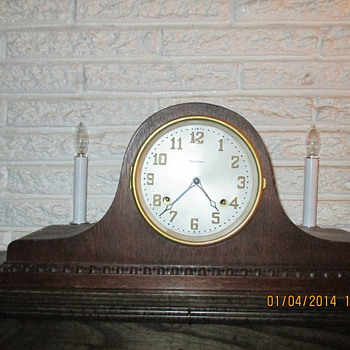 Waterbury Mantel Clock - Clocks
