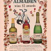 1954 Almaden Wines Advertisement