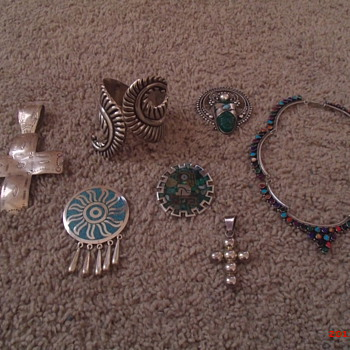 Taxco jewelry collection