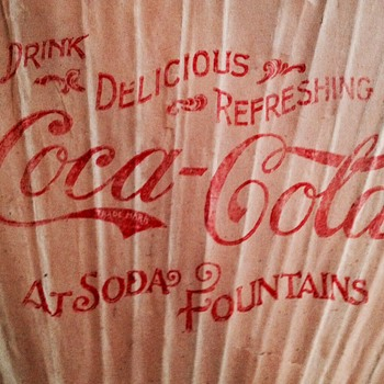 1900 Coca Cola Fan - Coca-Cola