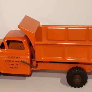 Personalized Marx Lumar Dump Truck - Model Cars