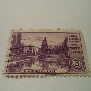 Mt Rainier 3cents U.S. Stamp 1934