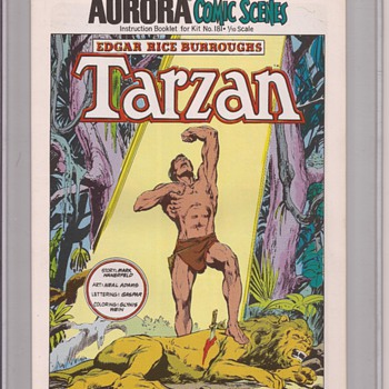 Adams  does tarzan - Comic Books