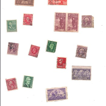  LOOSE &quot;STAMPS&quot;, &quot;STAMP ENVELOPES&quot;  - Stamps