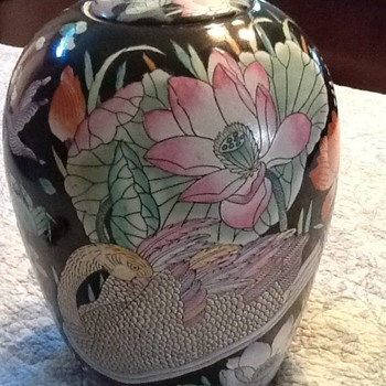 a pair of large ginger Jars? - China and Dinnerware
